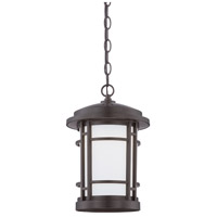 Barrister LED 9 inch Burnished Bronze Outdoor Hanging Lantern