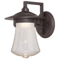 Designers Fountain Paxton 8-inch LED Outdoor Wall Lantern in Aged Bronze Patina LED22521-ABP