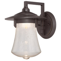 Designers Fountain Paxton 10-inch LED Outdoor Wall Lantern in Aged Bronze Patina LED22531-ABP