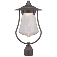 Designers Fountain Paxton 10-inch LED Post Lantern in Aged Bronze Patina LED22536-ABP
