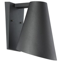 Designers Fountain LED23221-BK Walker LED 12 inch Black Outdoor Wall Lantern