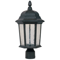 Designers Fountain Abbington Post Lantern in Driftwood LED2776-DWD