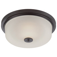 Orono LED 15 inch Oil Rubbed Bronze Flushmount Ceiling Light