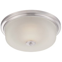 Orono LED 15 inch Satin Platinum Flushmount Ceiling Light