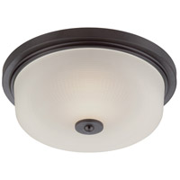 Orono LED 13 inch Oil Rubbed Bronze Flushmount Ceiling Light
