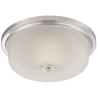 Orono LED 13 inch Satin Platinum Flushmount Ceiling Light