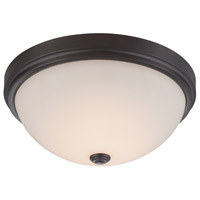 Hopkins LED 15 inch Oil Rubbed Bronze Flushmount Ceiling Light