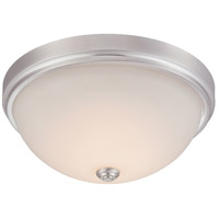 Hopkins LED 15 inch Satin Platinum Flushmount Ceiling Light