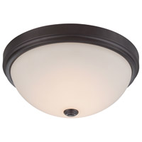 Hopkins LED 13 inch Oil Rubbed Bronze Flushmount Ceiling Light