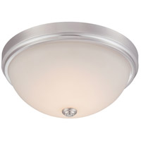 Designers Fountain Hopkins 13-inch LED Flushmount in Satin Platinum LED302M-SP