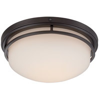 Ramsey LED 15 inch Oil Rubbed Bronze Flushmount Ceiling Light