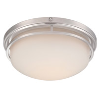 Ramsey LED 15 inch Satin Platinum Flushmount Ceiling Light