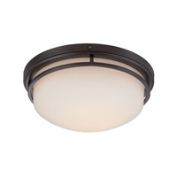 Ramsey LED 13 inch Oil Rubbed Bronze Flushmount Ceiling Light