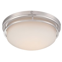 Designers Fountain LED303M-SP Ramsey LED 13 inch Satin Platinum Flushmount Ceiling Light