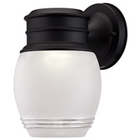 Barclay LED 9 inch Black Outdoor Wall Lantern