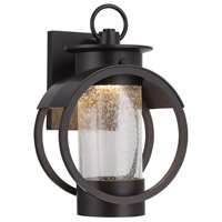 Arbor LED 12 inch Burnished Bronze Outdoor Wall Lantern