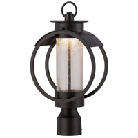 Designers Fountain Arbor 1 Light Post Lantern in Burnished Bronze LED32826-BNB