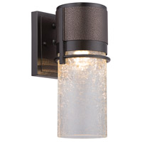 Baylor LED 12 inch Burnished/Flemish Bronze Outdoor Wall Lantern