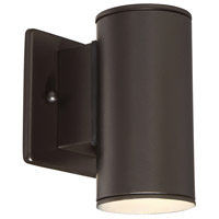 Designers Fountain Barrow 1 Light Wall Lantern in Oil Rubbed Bronze LED33001-ORB