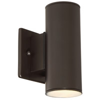 Designers Fountain Barrow 1 Light Wall Lantern in Oil Rubbed Bronze LED33001C-ORB