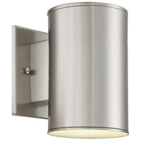 Barrow LED 7 inch Satin Platinum Outdoor Wall Sconce