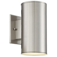 Barrow LED 9 inch Satin Platinum Outdoor Wall Sconce