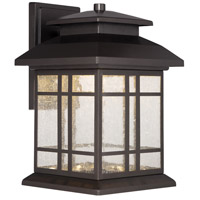 Piedmont LED 13 inch Oil Rubbed Bronze Outdoor Wall Lantern