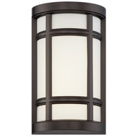 Logan Square LED 8 inch Burnished Bronze ADA Wall Sconce Wall Light