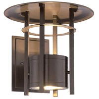 Designers Fountain Englewood 1 Light Wall Lantern in Burnished Bronze LED34031-BNB