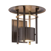 Englewood LED 9 inch Burnished Bronze Outdoor Wall Lantern