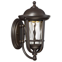 Westbrooke LED 12 inch Aged Bronze Patina Outdoor Wall Lantern