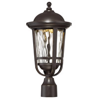 Westbrooke LED 19 inch Aged Bronze Patina Outdoor Post Lantern