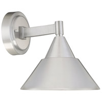 Fremont LED 9 inch Brushed Aluminum Outdoor Wall Sconce