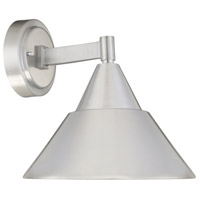 Fremont LED 10 inch Brushed Aluminum Outdoor Wall Sconce