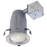 LED Recessed LED Brushed Nickel Recessed Ceiling Light