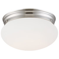 Designers Fountain LED4732-35 LED Flushmount LED 9 inch Brushed Nickel Flushmount Ceiling Light
