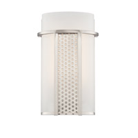 Designers Fountain LED6051A-SP Lucern LED 7 inch Satin Platinum Wall Sconce Wall Light