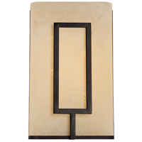 Regatta LED 7 inch Burnished Bronze Wall Sconce Wall Light