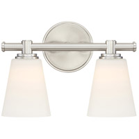 Parker LED 12 inch Satin Platinum Vanity Wall Light