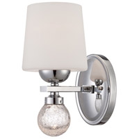 Designers Fountain Astoria 1 Light Wall Sconce in Chrome LED85001-CH