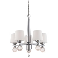 Designers Fountain Astoria 5 Light Chandelier in Chrome LED85085-CH