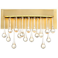 Designers Fountain LED88100-LXG Lucienne LED 14 inch Luxor Gold Wall Sconce Wall Light
