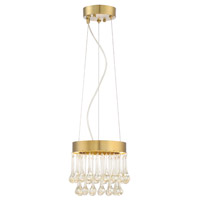 Lucienne 1 Light Luxor Gold Pendant Ceiling Light