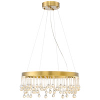 Designers Fountain Lucienne 1 Light Pendant in Luxor Gold LED88134-LXG