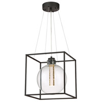 Aloft LED 14 inch Black Pendant Ceiling Light