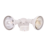 Designers Fountain Area & Security 2 Light Motion Detectors/Security in White P218C-06