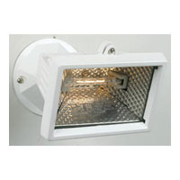 Designers Fountain Quartz Halogen 1 Light Security Light in White Q150C-06 photo thumbnail