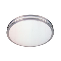 Designers Fountain Round Fluorescent 4 Light Flushmount in Satin Nickel S117LCFL-SN