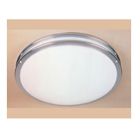Round 2 Light 16 inch Satin Nickel Flushmount Ceiling Light