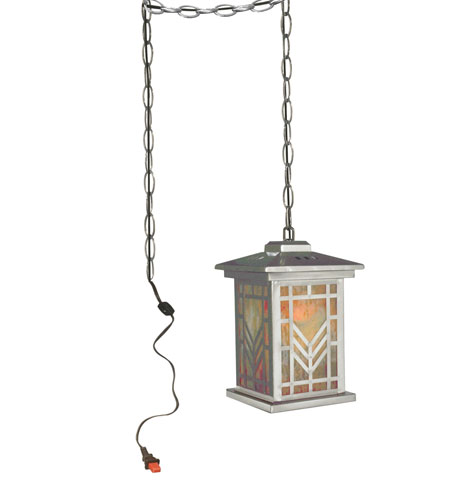 Antique Tiffany Hanging Lamp Value: Dale Tiffany Aurora 1 Light Hanging Fixture In Antique